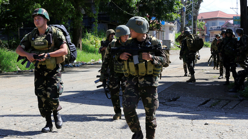 Reporting on weeks of militant clashes in the Philippines