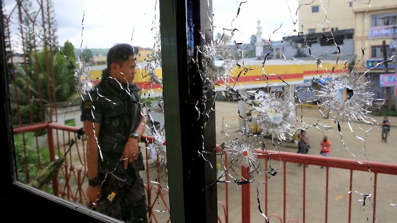 The Islamist militant siege of Marawi