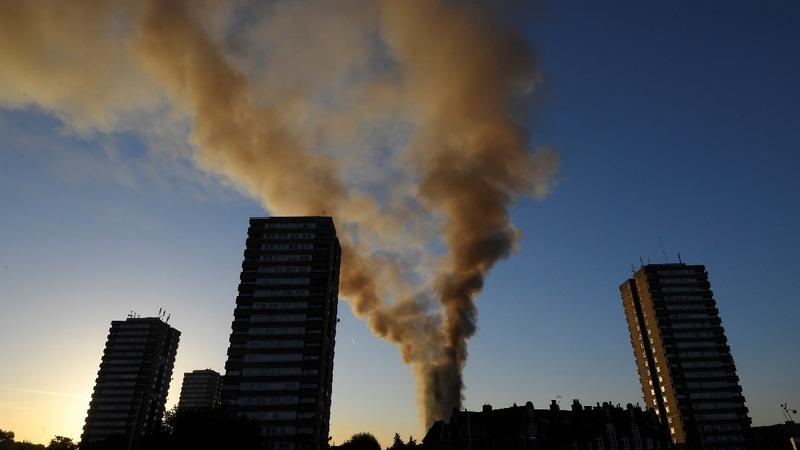 Twelve confirmed dead in London tower fire