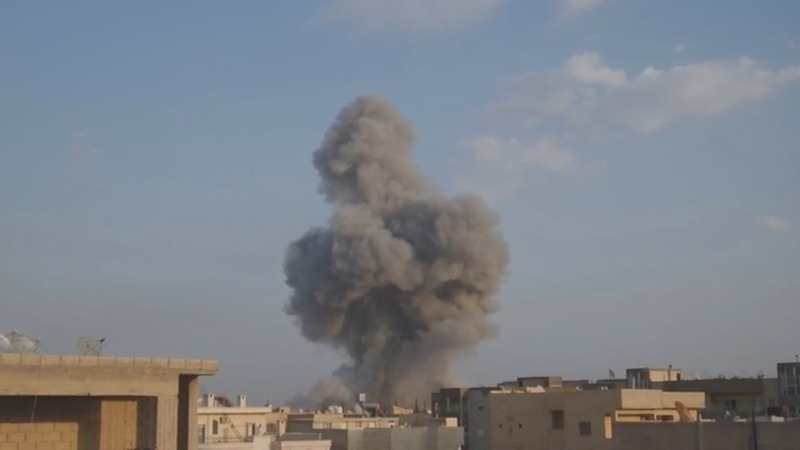 """Staggering"" civilian deaths from Syria's U.S.-led air strikes - UN"