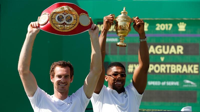 INSIGHT: Joshua v Murray in tennis friendly