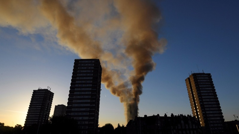 London tower block fire kills at least 17