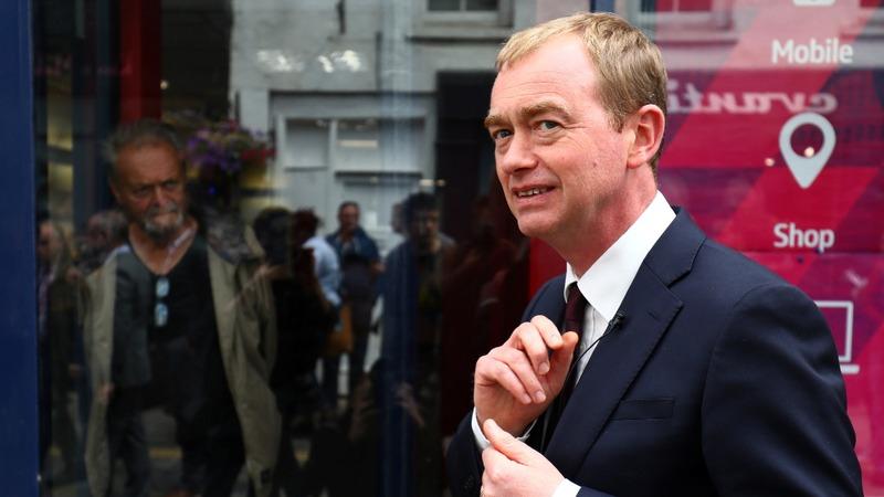 Britain's Liberal Democrat leader quits