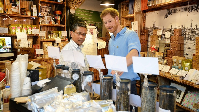 INSIGHT: Prince Harry visits market after attack