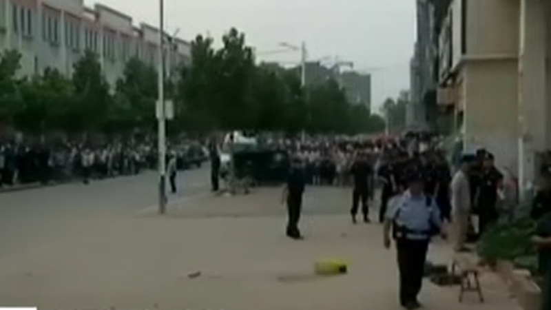 Blast rips through kindergarten in China