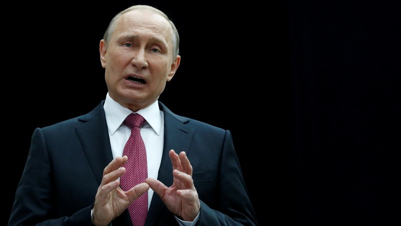 Putin criticises U.S. sanctions in annual Q&A