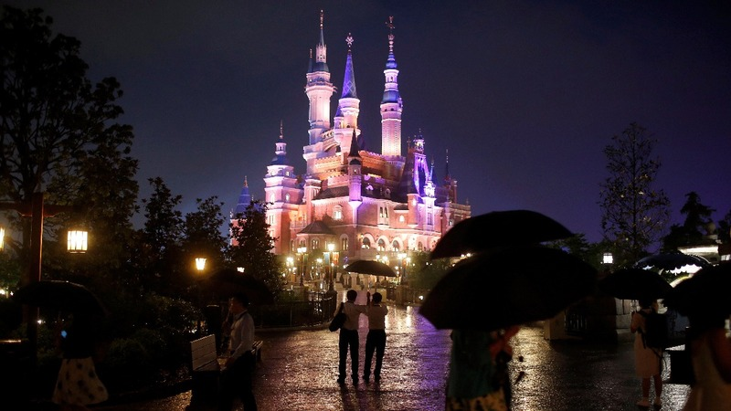 Shanghai birthday marks good year for Disney