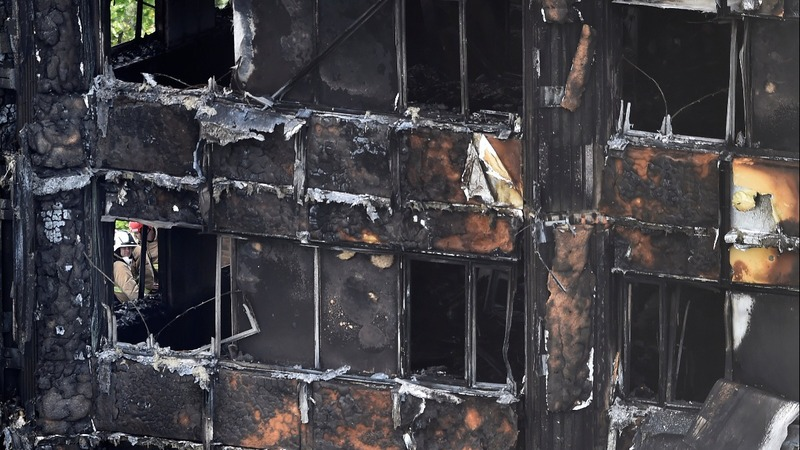 London fire death toll hits 30