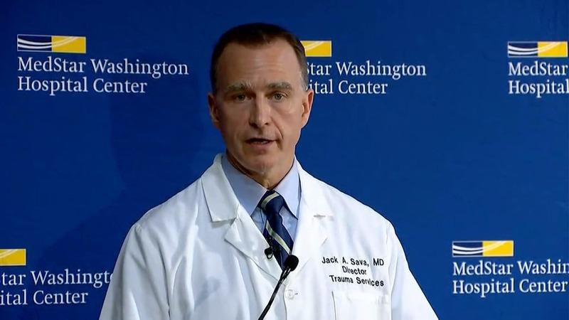 VERBATIM: U.S. congressman Scalise showing improvement after being shot