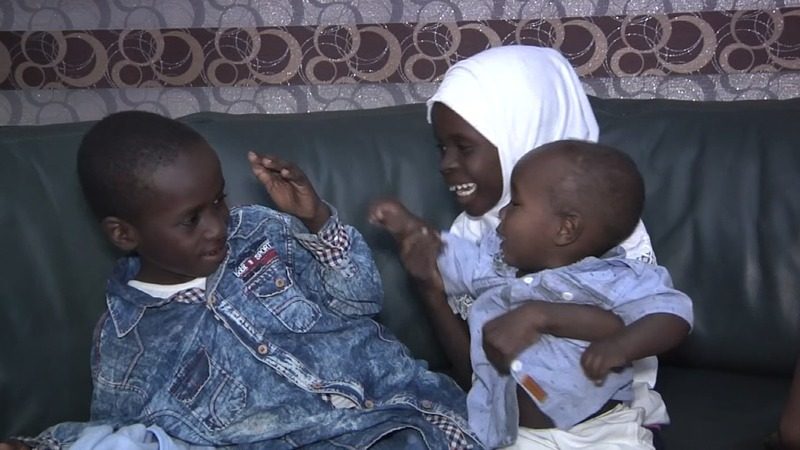 Rescued children of  Sudanese IS members return home