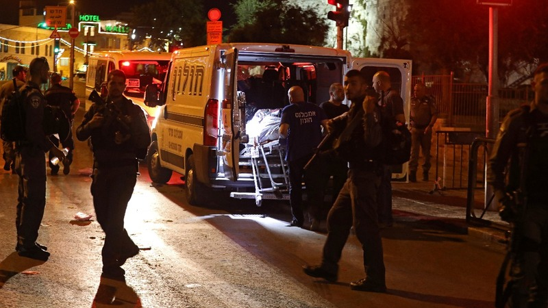 3 Palestinians killed after attack on police