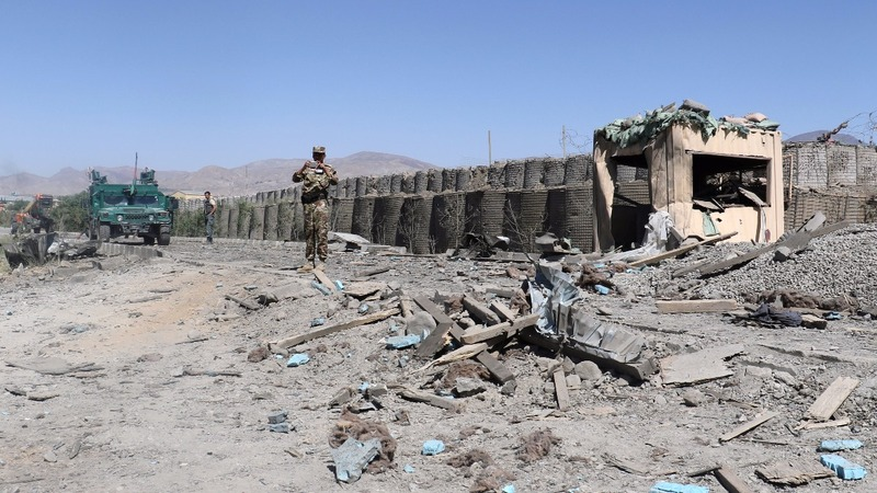Afghan Police killed in Taliban bombing