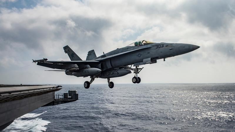 U.S. warplane downs Syrian jet over Raqqa