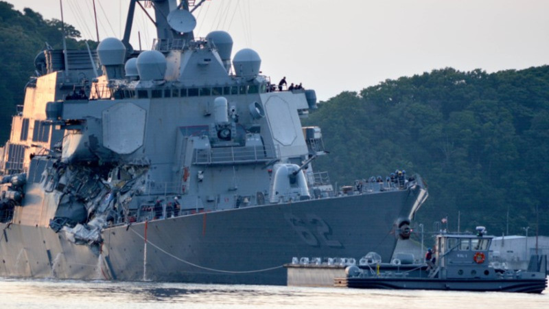 U.S. Navy confirms 7 dead in collision near Japan