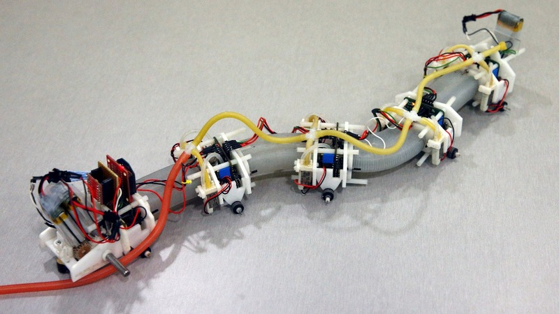 Roboticists show off their new advances in 'soft robots'