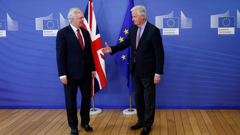 One year on, Brexit talks finally begin