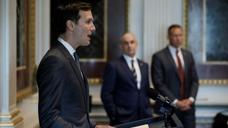 Jared Kushner makes his first public remarks
