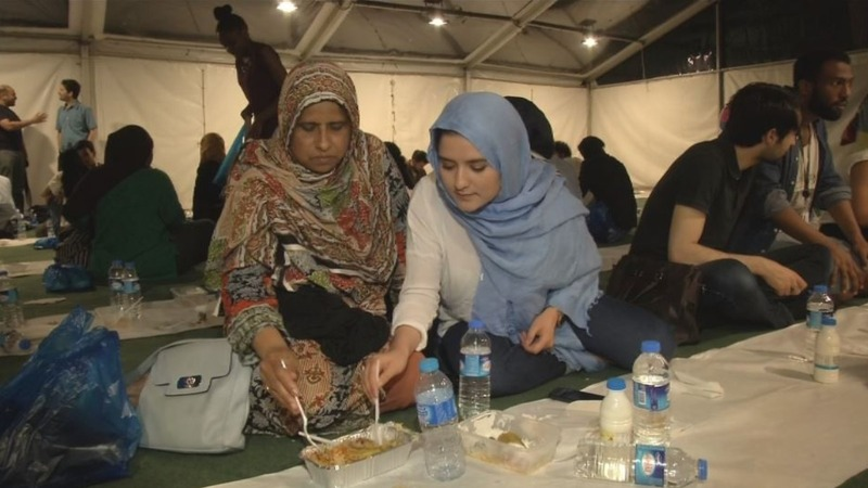 INSIGHT: Londoners unite at Iftar event