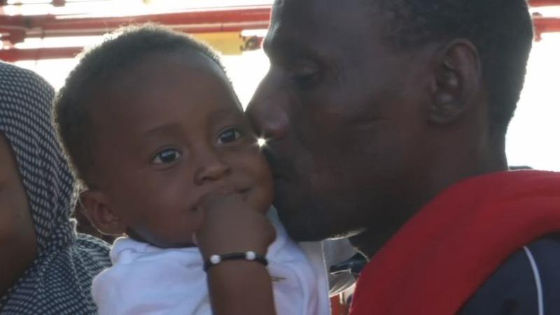 VERBATIM: Migrants hope for safety on Refugee Day