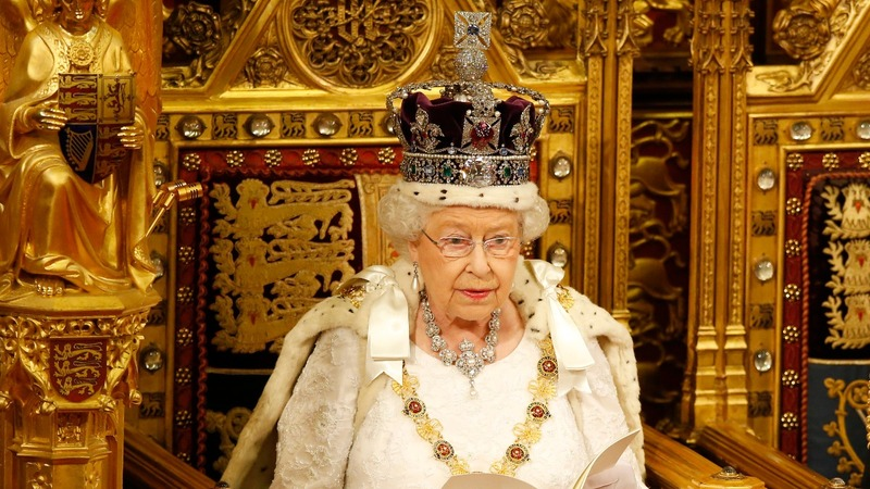 A Queen's Speech amid UK political turmoil