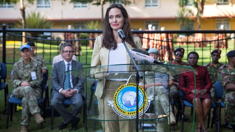 INSIGHT: Angelina Jolie marks World Refugee Day