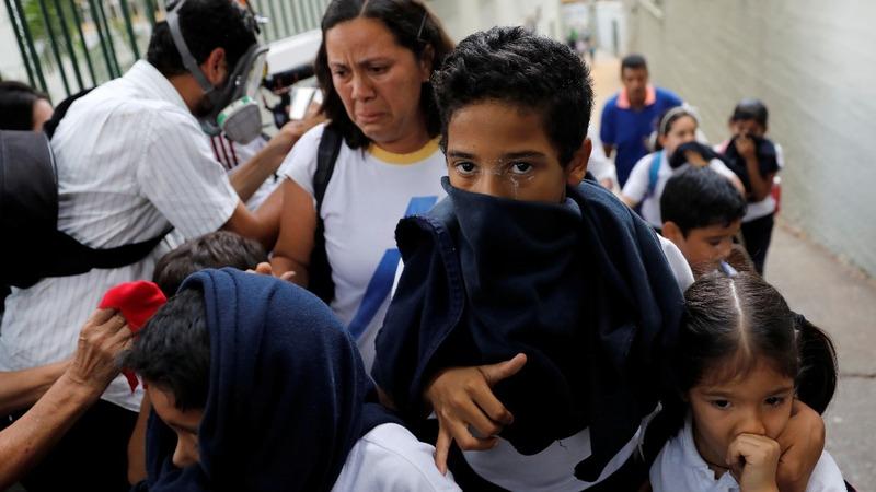 Amid Venezuela unrest, what about school?