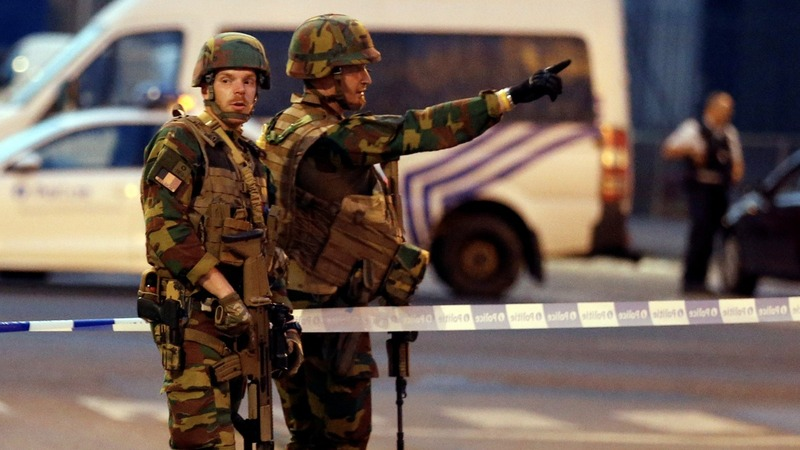 Suspected suicide bomber shot dead in Brussels