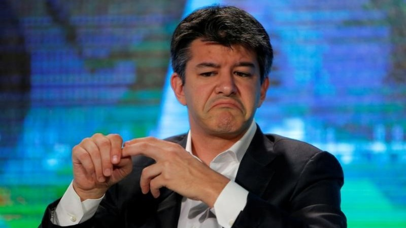 Uber CEO and co-founder Kalanick quits