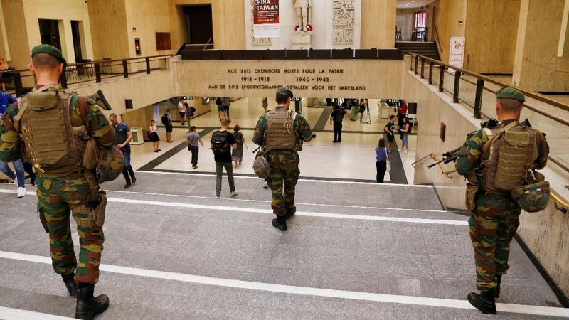 Police identify Brussels railway bomber