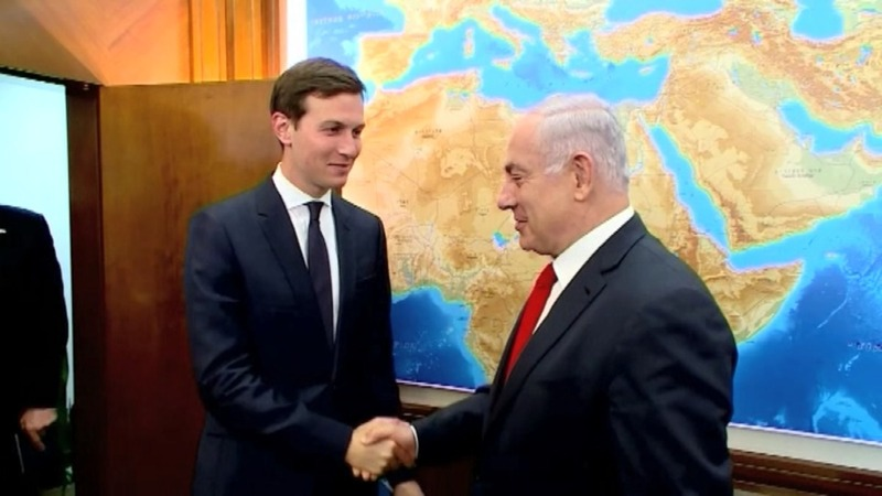 Trump's son-in-law begins Middle East peace talks
