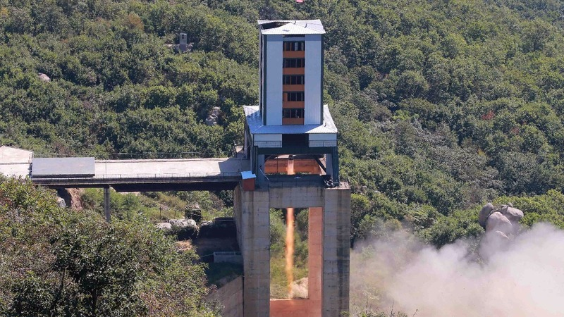 North Korea tests a rocket engine: U.S. officials