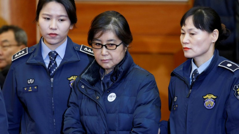 Woman at the heart of South Korean scandal jailed