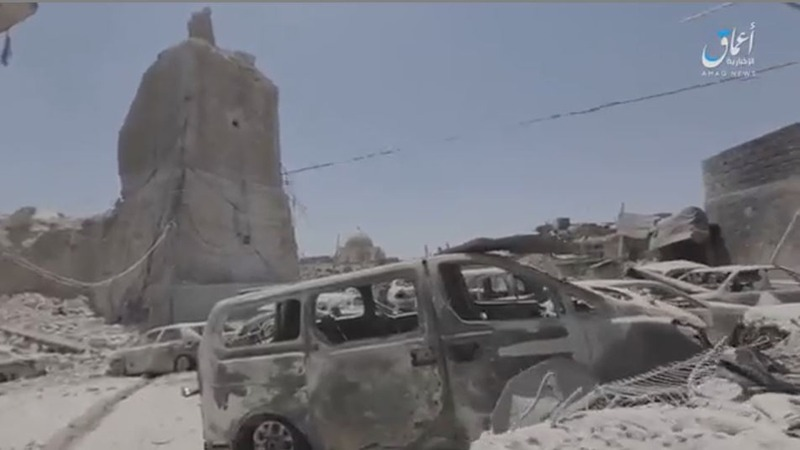 INSIGHT: I.S. release video of destroyed mosque