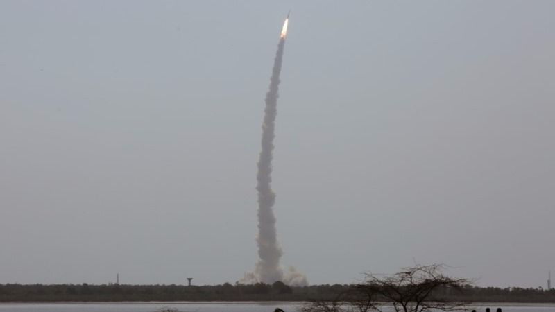 India launches international satellites into space