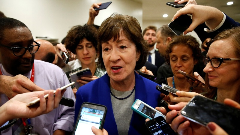Republican Collins has 'serious concerns' over health bill