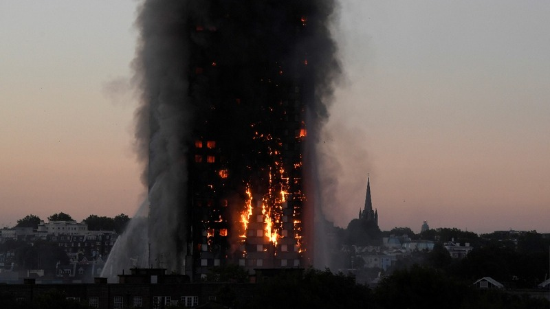 Dozens of UK towers fail fire safety tests