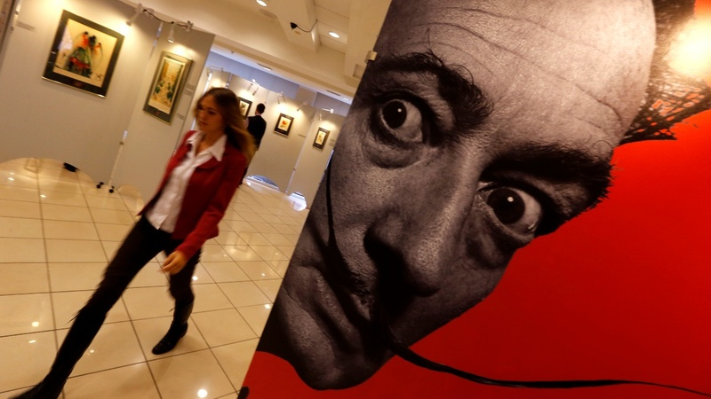 Dali's body to be exhumed for paternity test