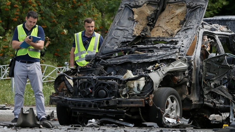 Ukrainian colonel killed by car bomb in Kiev