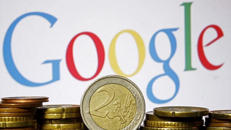 EU fines Google record $2.7 bln in antitrust case