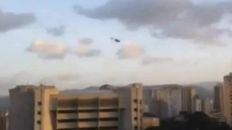 Helicopter attacks a Venezuelan court in 'attempted coup'