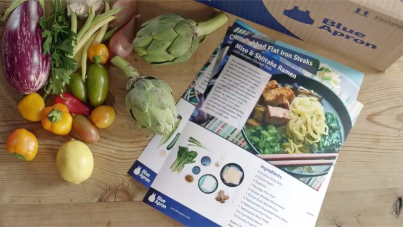 Investors turn down heat on Blue Apron IPO