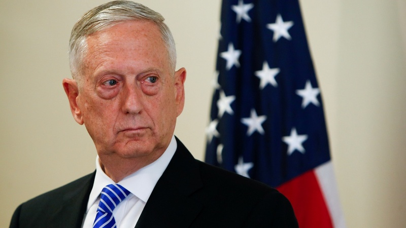 Mattis: U.S. warning averted Syria chemical attack