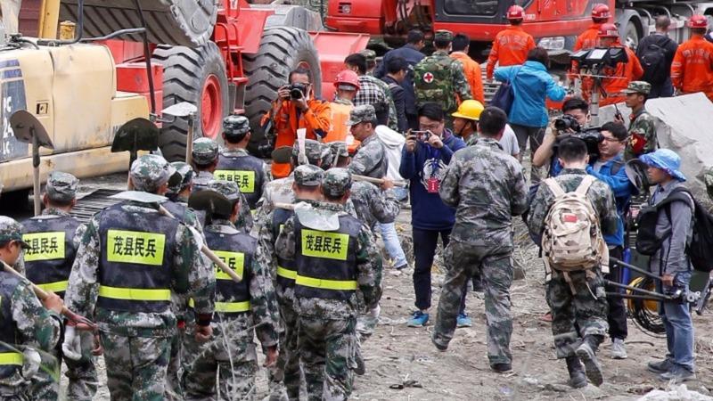 Beijing cracked down on landslide disaster coverage