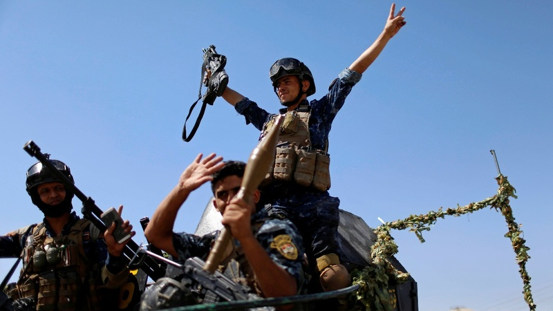 Iraqi forces capture symbolic Mosul mosque