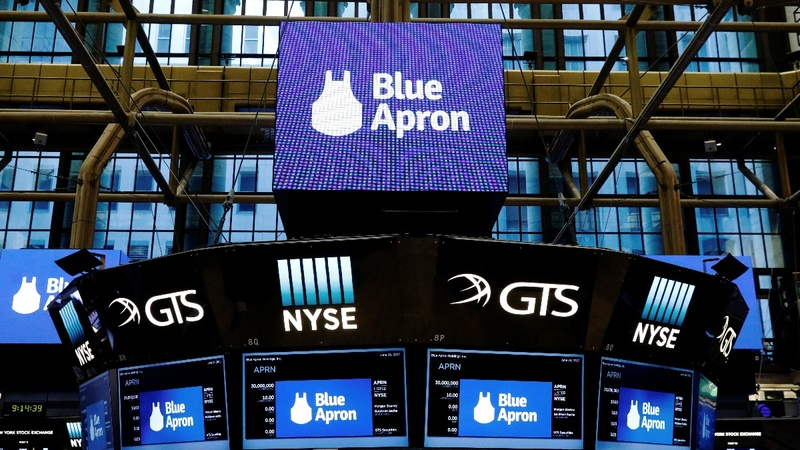 Blue Apron debut lacks hearty appetite