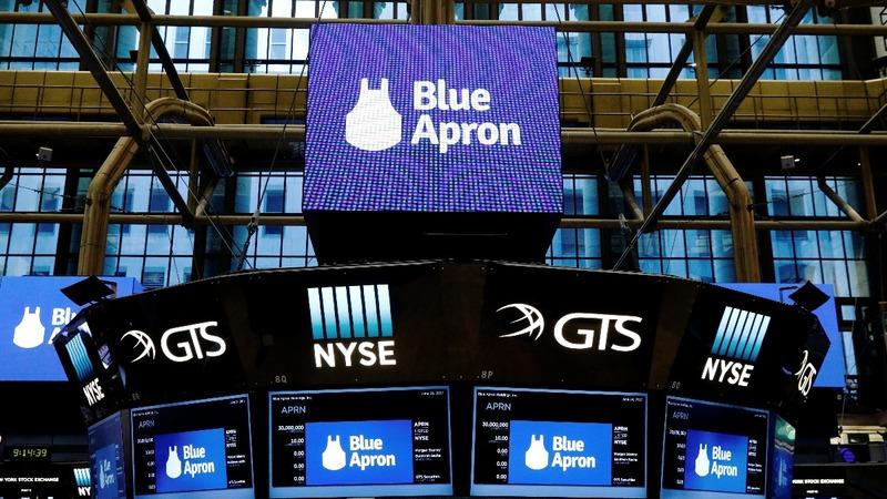 Blue Apron debut lacks hearty appetite