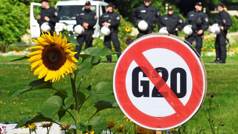 Hamburg's G20 summit a perfect storm of risks