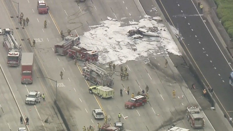 INSIGHT: Two injured after plane crashes into California highway