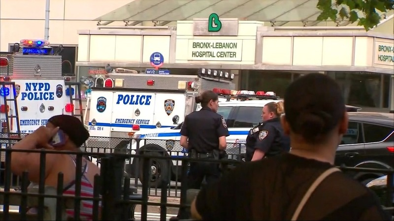 Shots fired at Bronx hospital, suspect killed