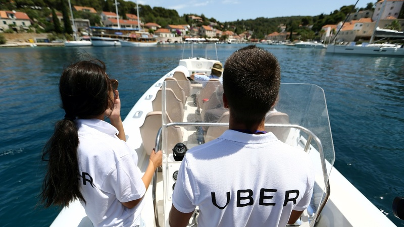 Uber launches speedboats along Croatia's coast